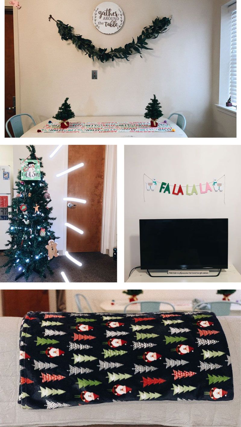 Christmas In The Dorm Residence Life Dorm Decorations Holiday Decor