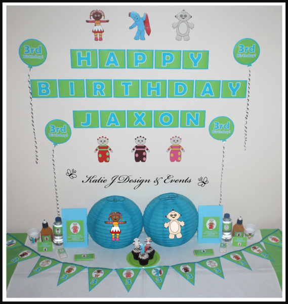 Shop Online PERSONALISED IN THE NIGHT GARDEN Party Decorations