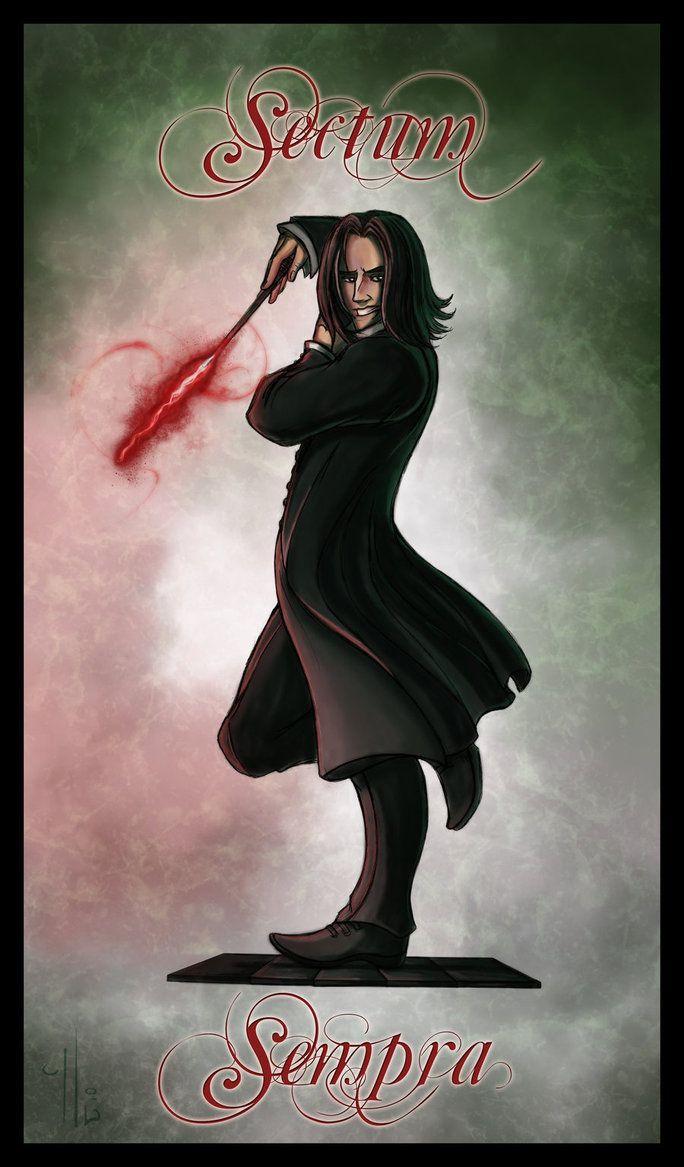 Sectumsempra By Belegilgalad Magical World Of Harry Potter Severus Snape Harry Potter Fan Art