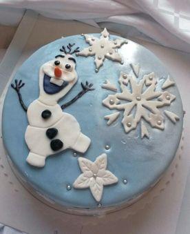 Frozen kakku