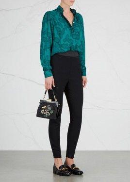 Black zipped leggings (KS)