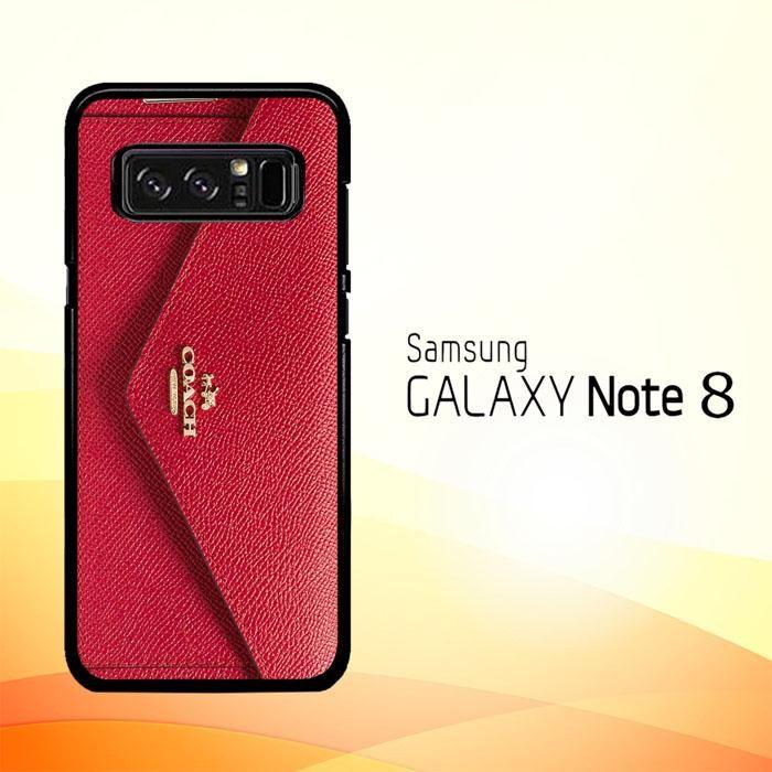 quality design 1b7a0 5aca3 Coach Soft Wallet X4785 Samsung Galaxy Note 8 Case | stuff for me ...