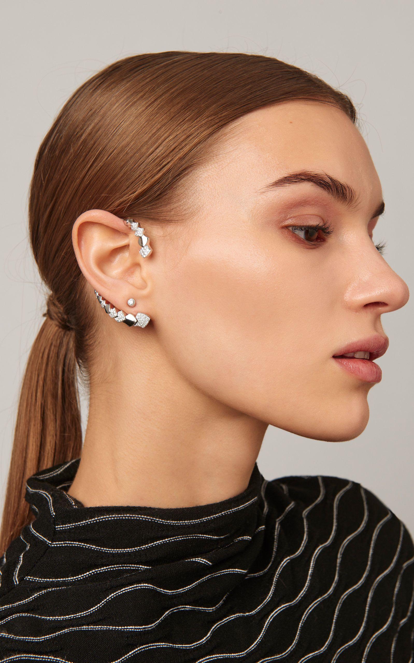 b9fe3cd9d Akillis Python 18K Gold Diamond Ear Cuff in 2019 | Products ...