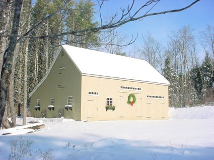 Country Barn Building Services | New England Style Shed | Precut Shed Kits