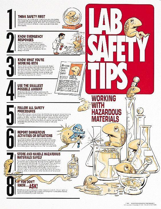 science lab safety Science lab safety, Lab safety and Chemistry - chemistry safety