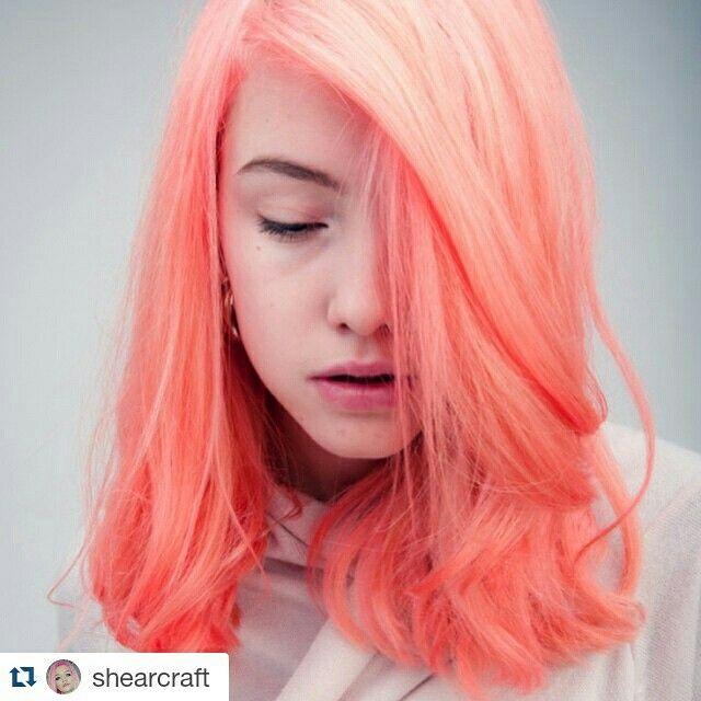 Pretty flamingo | Manic Panic | Cool hair color, Neon hair ...