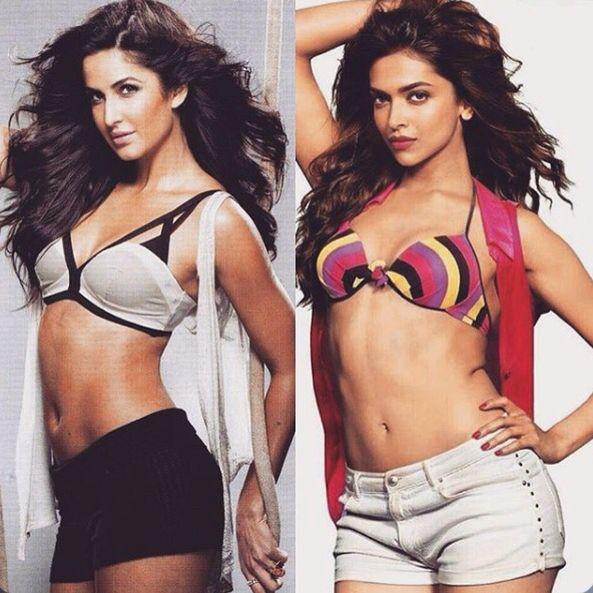 Katrina Kaif Or Deepika Padukone Swimwear Bikinis Katrina Kaif
