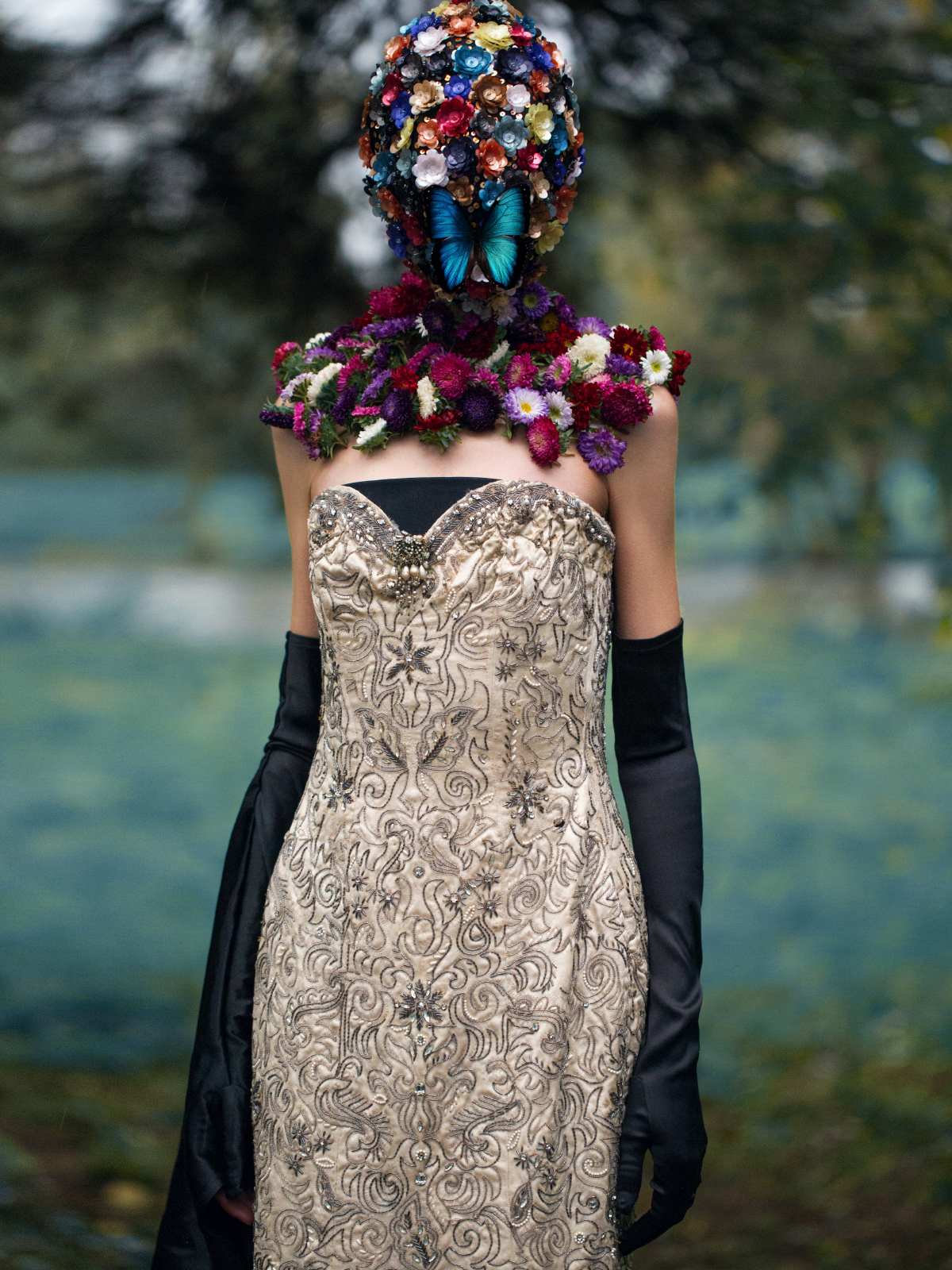 couture adventure: magda laguinge by jumbo tsui for harper's bazaar china december 2013