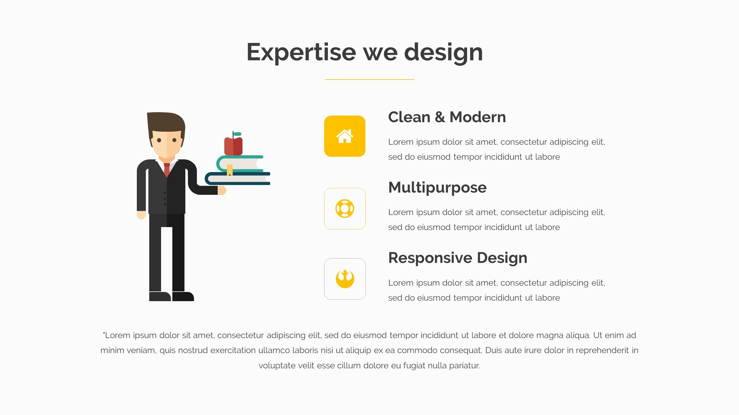 Appilo pitch deck powerpoint template keynote template