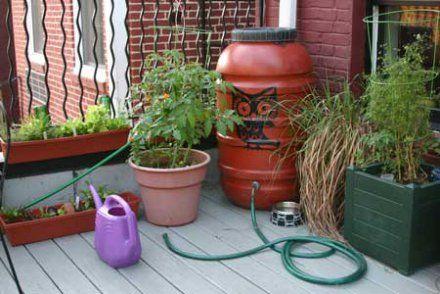 Fabriquez votre récupérateur du0027eau de pluie Notre prochaine maison - recuperation eau de pluie maison