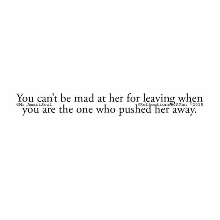 You can't be.