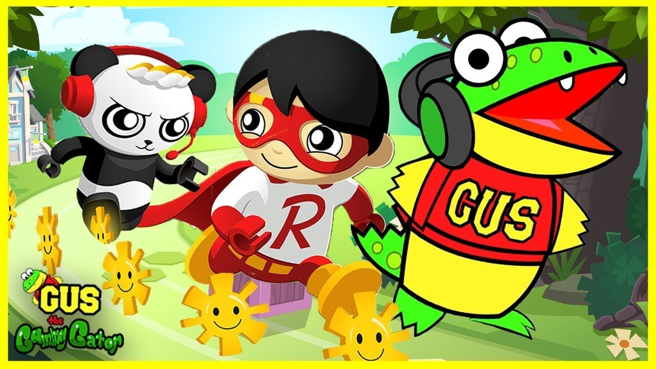Let s Play TAG WITH RYAN CHALLENGE Brand New Game from Ryan