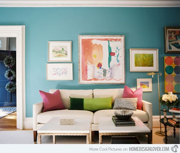 Vivacious Colorful Living Rooms Fun And Comfort: 15 Colorful Living Room Designs For A Dynamic Look