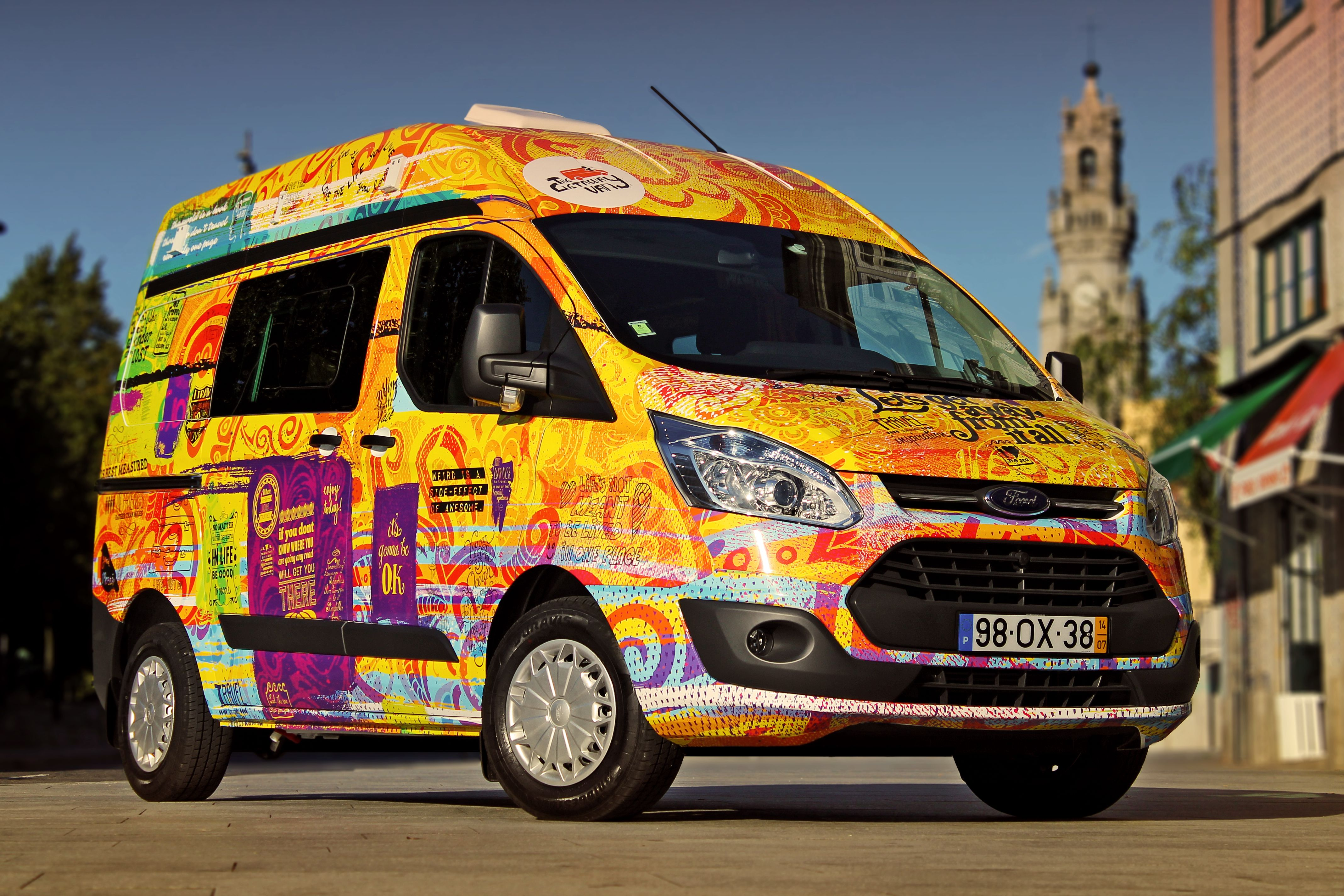 c56a7080b5 The Getaway Van - Low Cost Camper Vans for HIRE - Portugal - Porto . ...  HOW COOL IS THIS ! !