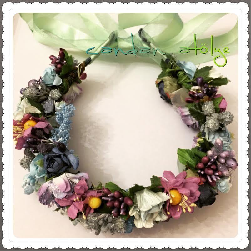Gelin Tacı, Taç, çiçekli Taç, Lohusa Tacı, Mezuniyet Tacı, Bride, Bride Crown, Crown
