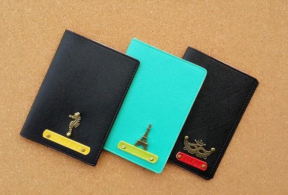 Personalized / Customized Passport Covers / Holders (SAFFIANO Series ...