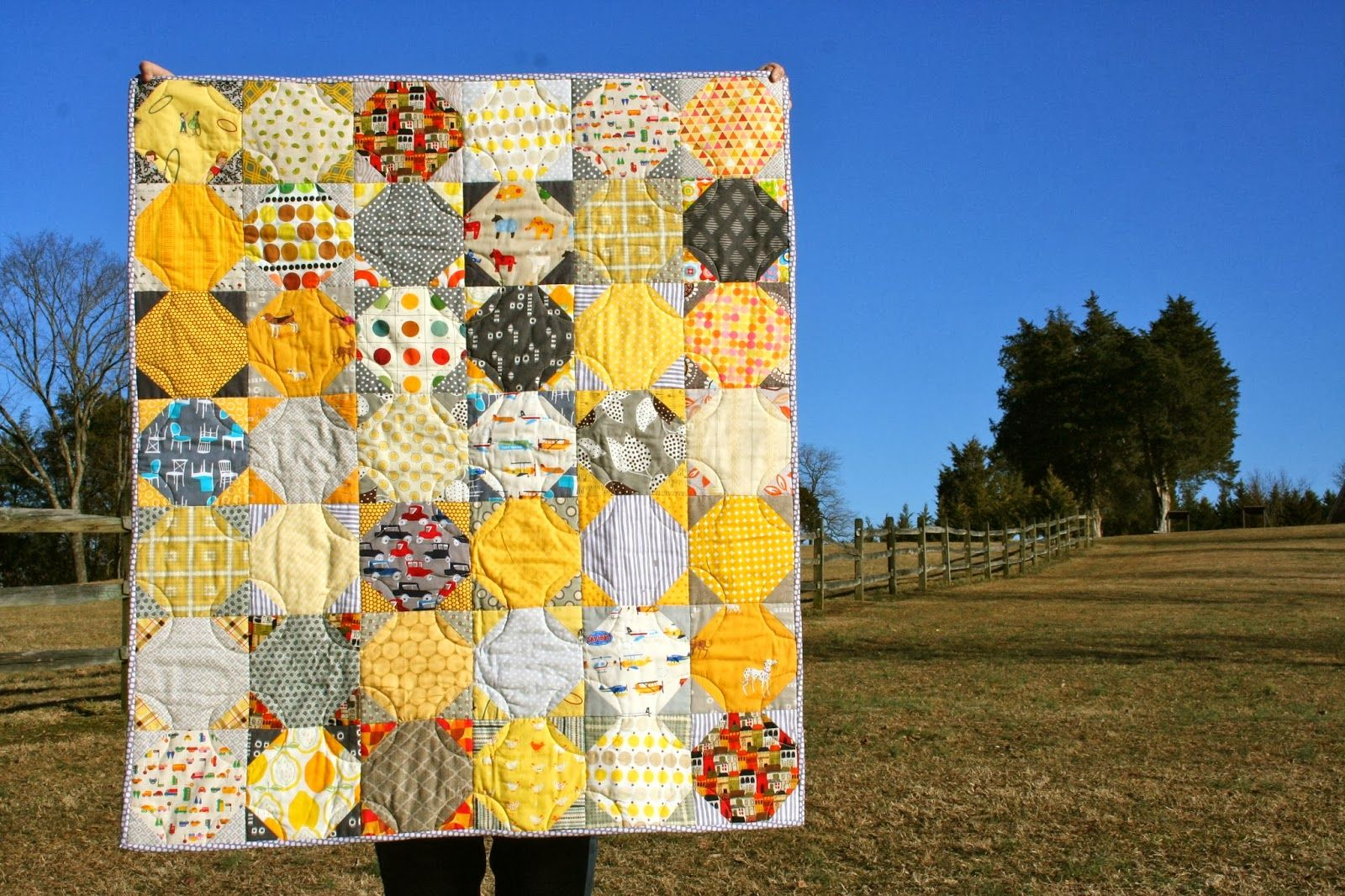 Babylove Quilt finish and a new Accuquilt fabric die cutting review