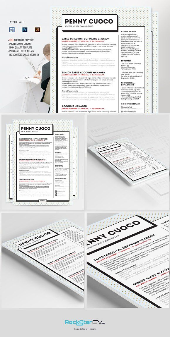 Resume Template CV Zonje Template, Creative resume templates and