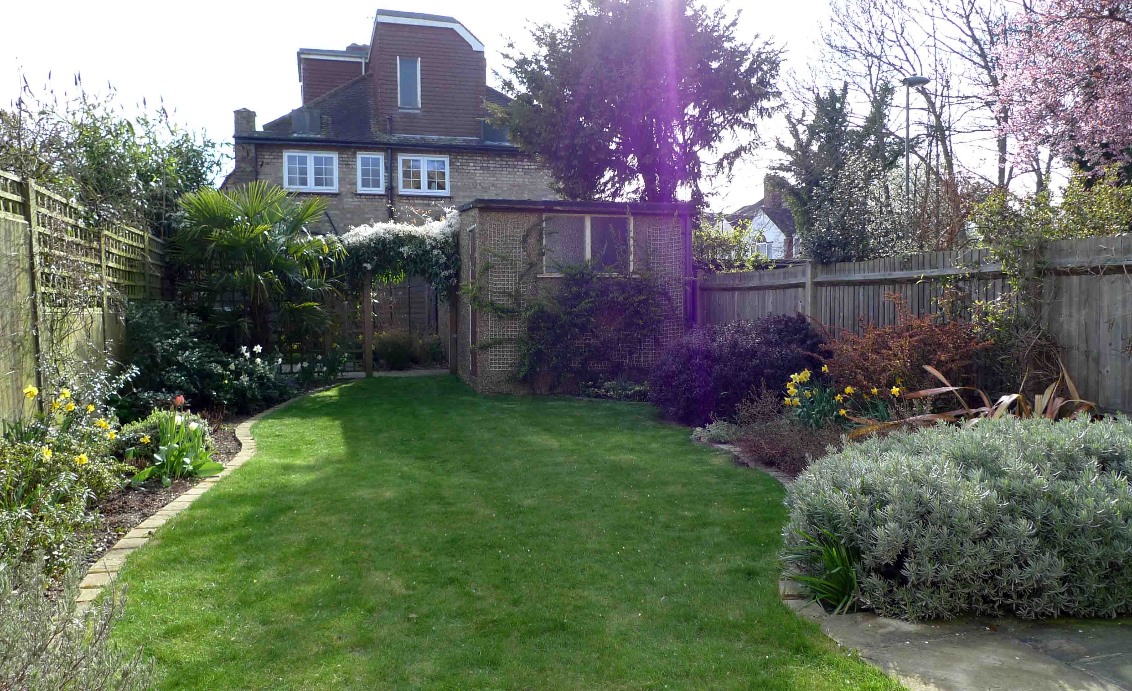What to do with a long, narrow back garden | Home Garden ... on Low Maintenance Back Garden Ideas id=48470