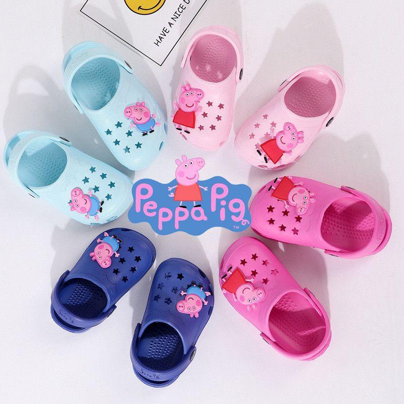 peppa pig slip on shoes