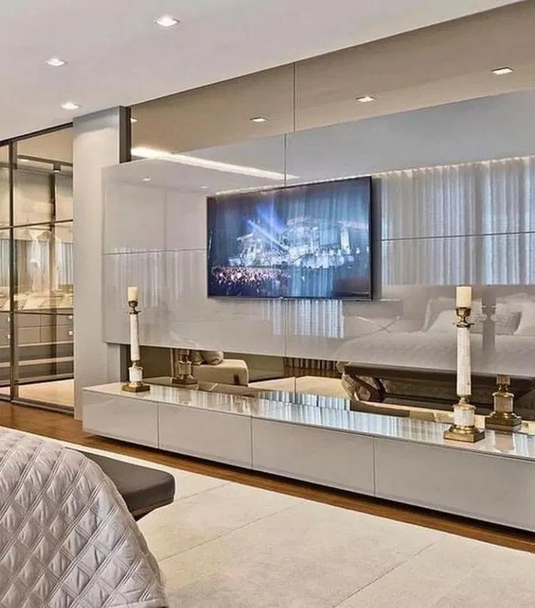 37 Amazing Tv Unit Design Ideas For Your Living Room Cozy Bedroom Design Beautiful Living Rooms Decor Living Room Design Modern