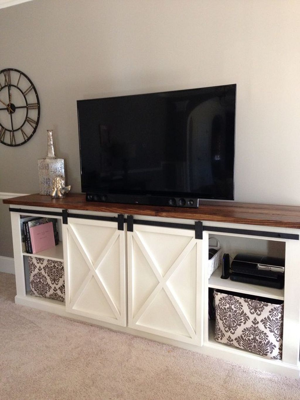 Tv Sideboard Modern 30 Modern Farmhouse Tv Stand Ideas Living Room Farmhouse