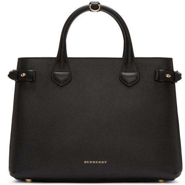 Burberry Black Zipper Bag