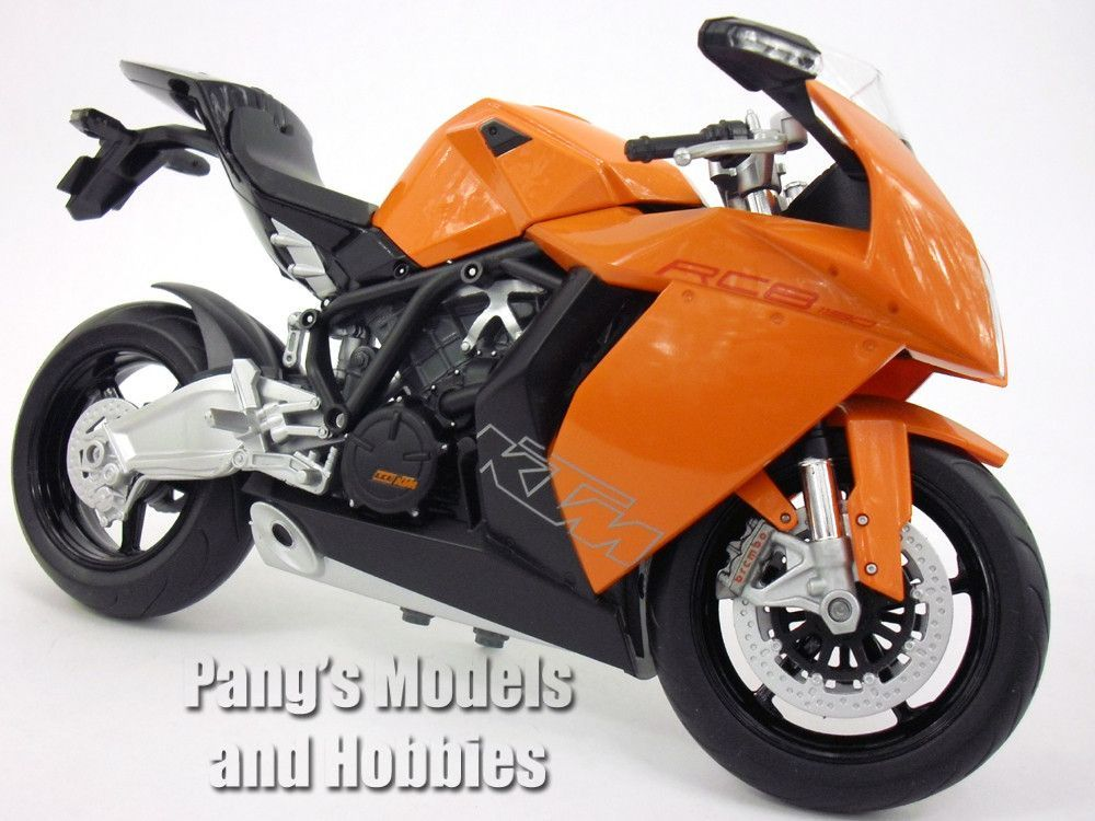 Ktm 1190 Rc8 Orange 1 10 Scale Diecast Metal Model Motorcycle By Welly Motorcycle Model Motorcycle Metal Models