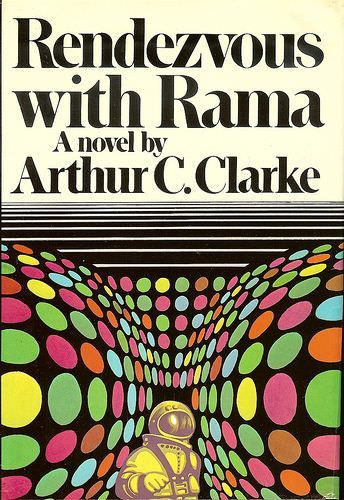 Rendez Vous Avec Rama Arthur C Clarke Science Fiction Novels Rendezvous With Rama Science Fiction