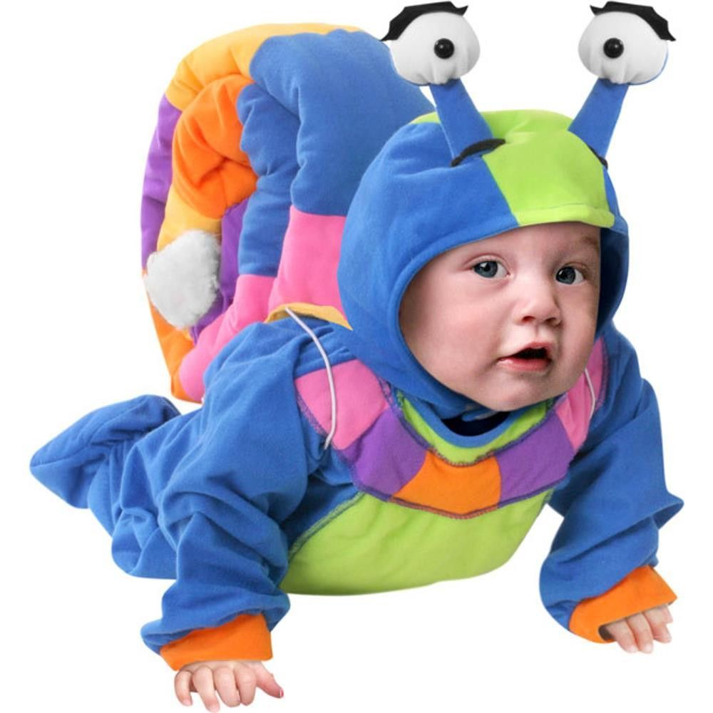 baby snail costume soft colorful high quality jumpsuit with built in footsies and - Diaper Costume Halloween
