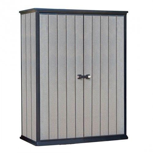 Tepro High Store Aufbewahrungsschrank 1500l Holzoptik Aufbewahrung Schrank Aufbewahrungsschrank Und Lagerschuppen