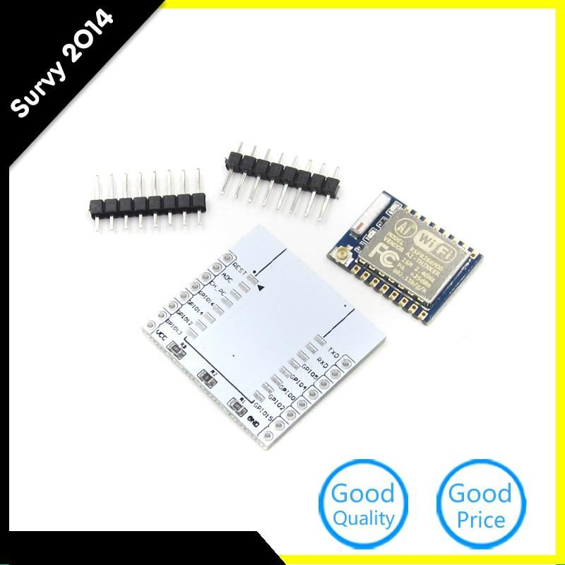 ESP8266 ESP-12E Remote Serial Port WIFI Module with IO Adapter Plate Expansion