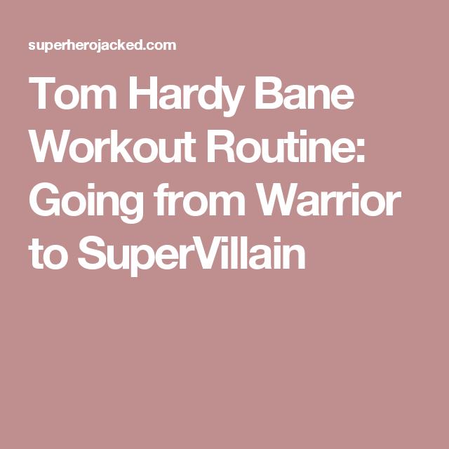 bane workout