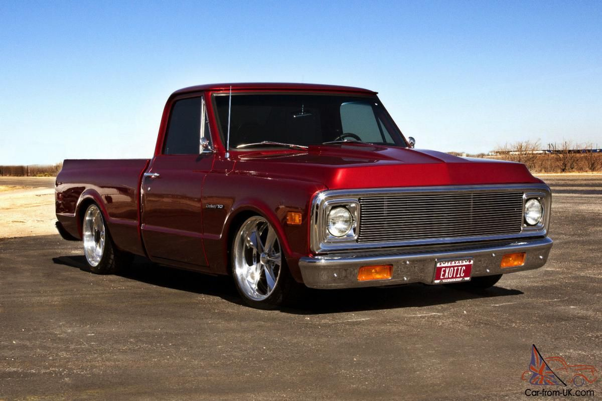 1972 CHEVROLET C10 SHORT BED PICKUP FRAME OFF PRO