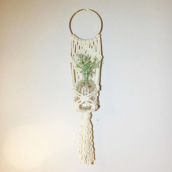 Macrame Wall Hanging / Plant Hanger
