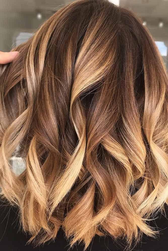 65 wunderschöne blonde Haarfarben-Trends für den Herbst 201 ... #caramelbalayage