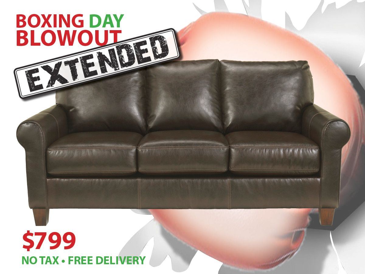 Acorn Bonded Leather Sofa Now Only 799 Tax Included Free Local