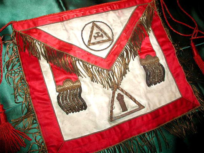 HOLY ROYAL ARCH Old MASONIC 1870s MYSTIC SYMBOLS RITUAL