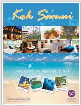 Koh Samui resort poster