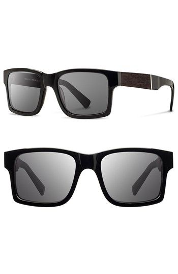 ff6a75550a8 Shwood  Haystack  52mm Wood Sunglasses available at  Nordstrom Mens  Sunglasses