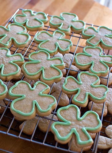 san patrick day biscuits