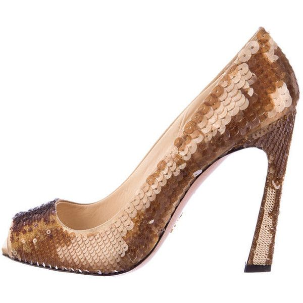 eastbay sale online Prada Satin Sequined Pumps cheap sale marketable cheap sale finishline 48Y9kJ3