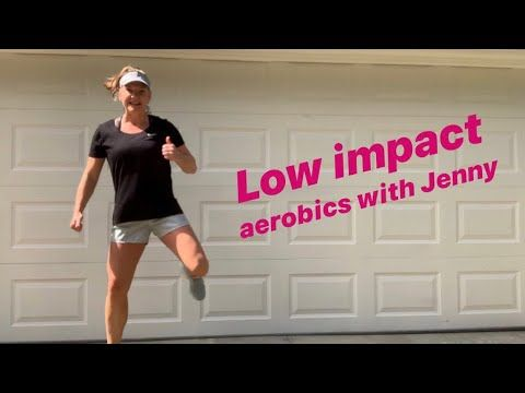 isolated at home fun 25 minute low impact aerobics for
