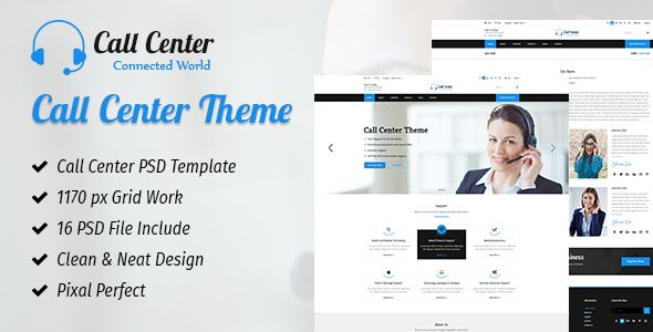 CallCenter - PSD Templates Download here : https://themeforest.net/item/callcenter/19452011?s_rank=69&ref=Al-fatih