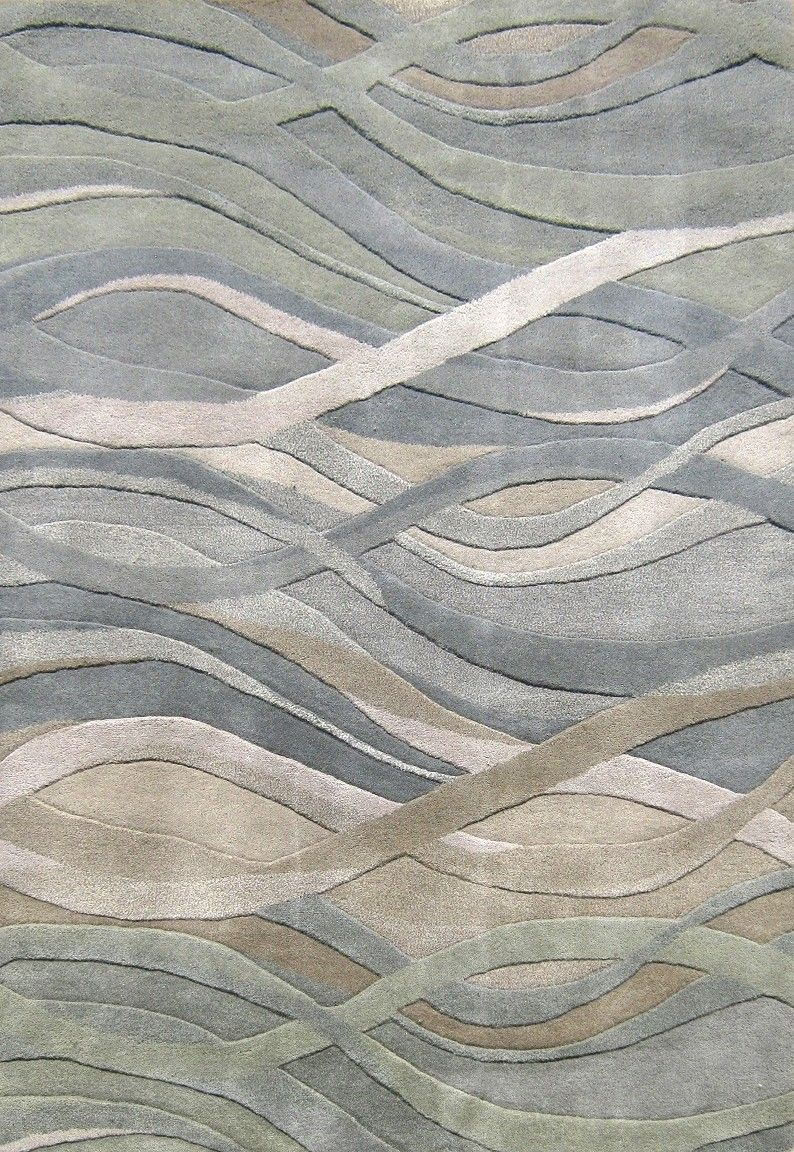Mccarthy Hand Tufted Dark Green Area Rug Products In