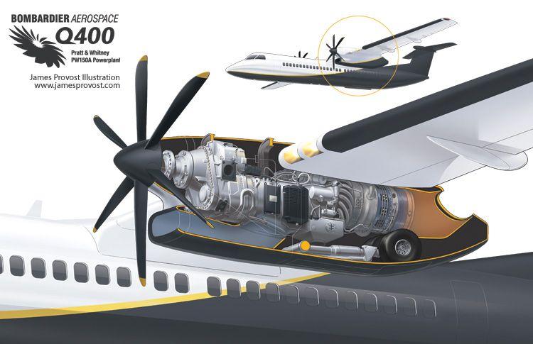bombardier engine diagram turboprop engine     james provost technical illustrator  com  turboprop engine     james provost