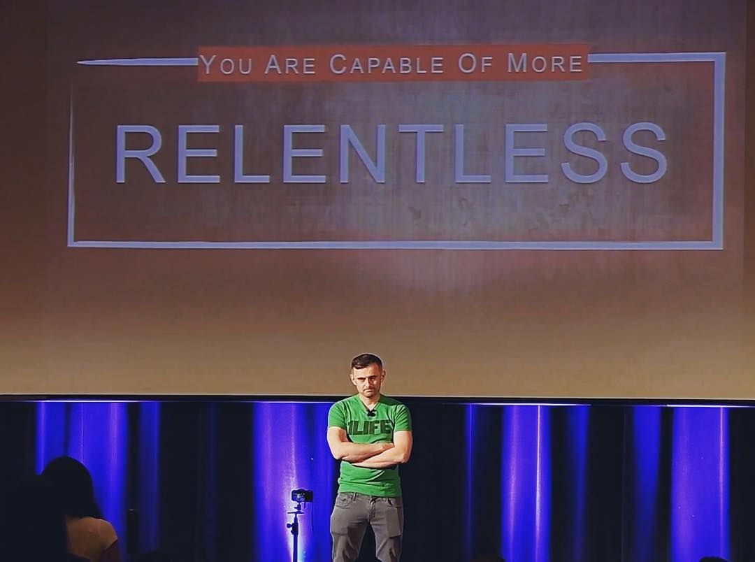 Garyvee is amazing Check out ALL of his content on YouTube Sound