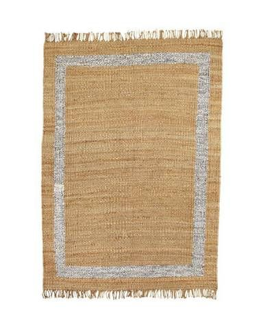 oaint a metallic border on a rustic blanket.    Coachella Packing List Blanket Ideas | Domino