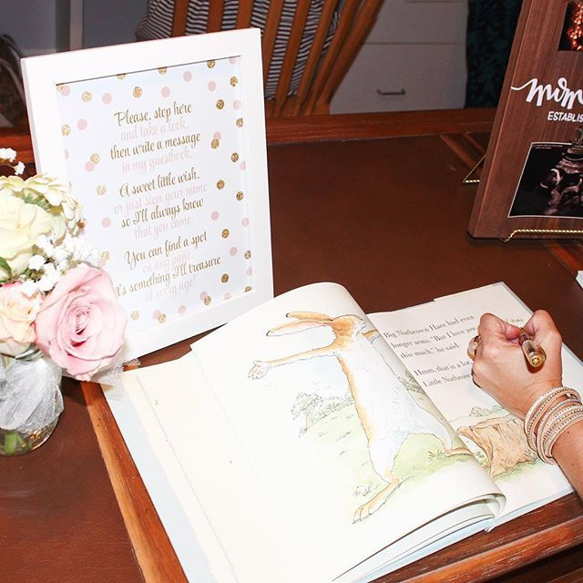 I LOVE Using A Nursery Book As A Baby Shower Guest Book Rather Than A  Traditional