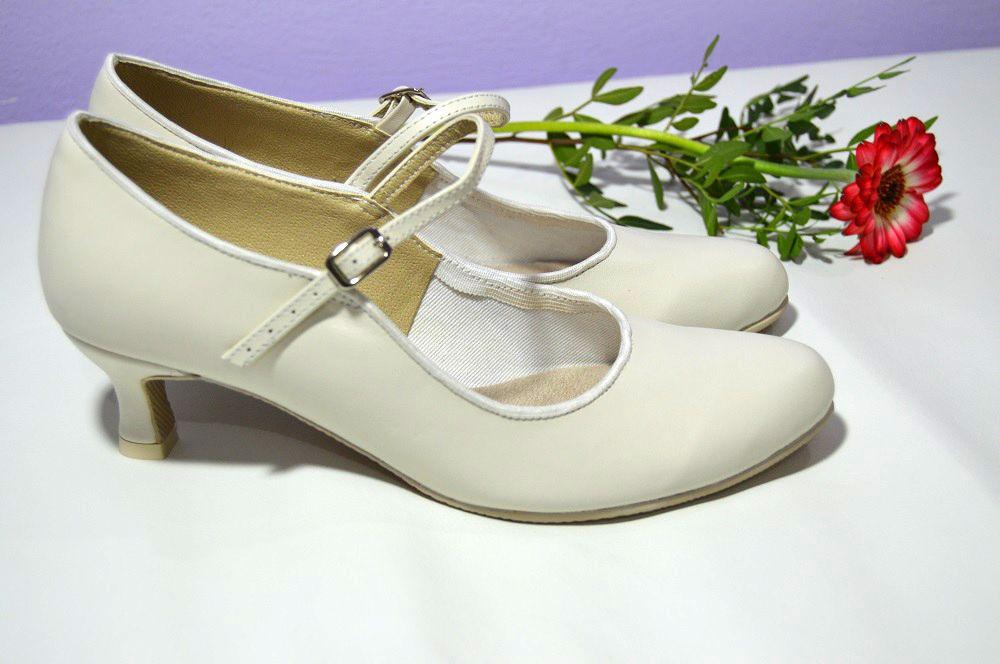 Svatební boty model Katrina T-styl. Pravá kůže ivory. Svadobné lodičky z  pravej 1908670480